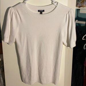 Express White Tee Shirt